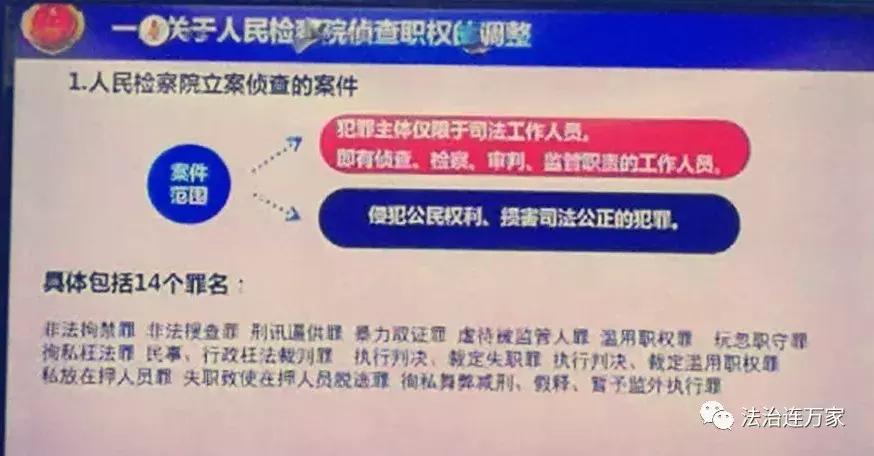 《刑诉法》修改!检察院保留职务犯罪侦查权14个罪名(全)