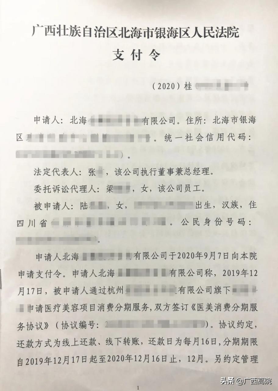 申请支付令后果严重(支付令下来无力偿还怎么办)-菏泽刑事律师电话免费咨询