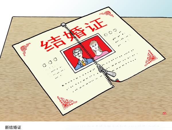 办理结婚证需要哪些证件?