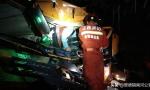 景德镇:乐平发生一起货车追尾事故,岳父把女婿的车给撞了!自己被困驾驶室