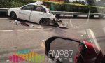 """突发!福州沈海高速,小轿车与货车发生事故!轿车被""""削""""了一半"""