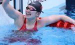 游泳——女子4X200米自由泳接力决赛:中国队夺冠