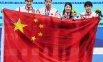 徐嘉余、闫子贝、张雨霏、杨浚瑄混合泳接力摘银,中国泳军值得骄傲