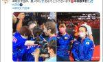 中国看台上全是世界冠军!日本网友刷屏:中国队过于强大了